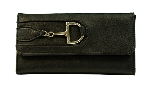 Purse -Wallet with Dee Snaffle Bit
