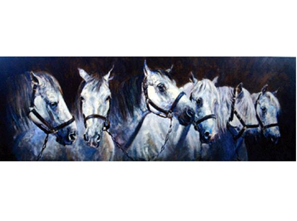 """Andalusians"" Print by Malcom Coward"