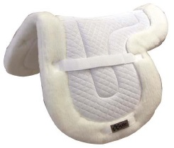 Exselle Saddle Quilted Saddle Pad with Fleece Bottom