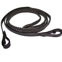Exselle® Elite Plaited Leather Reins