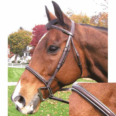 Exselle® Plain Raised Bridle