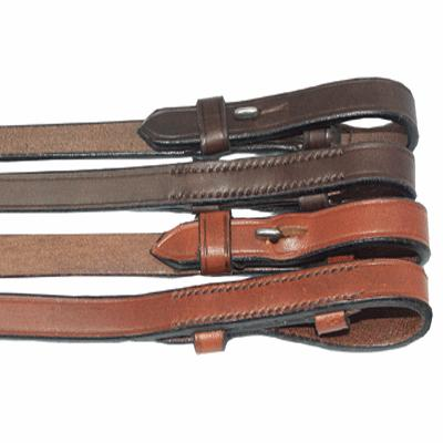 Flat English Bridle Leather Reins
