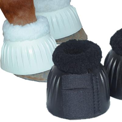 Fleece topped Bell Boot - Velcro closure