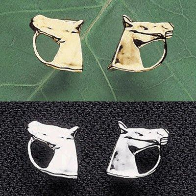 Horse Head Earrings by Exselle®