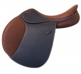 Intrepid Gold Deluxe Saddle with IGP System Grained