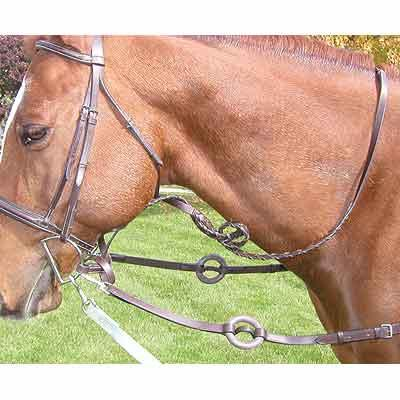 Legacy Premium Side Reins w/Rubber Donuts
