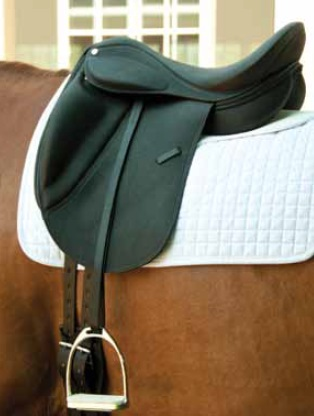 Dynamic Dressage Saddle w/Calf Skin
