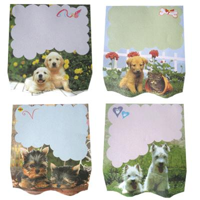 Puppy Memo Pads - 4 pack