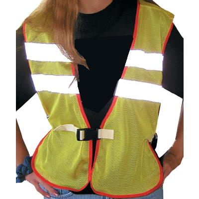 Reflective Safety Vest - White Stripes