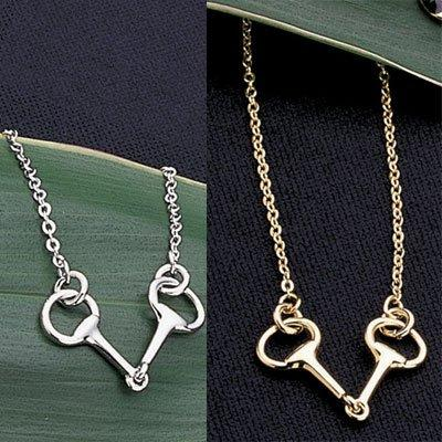 Snaffle Bit Necklace by Exselle®