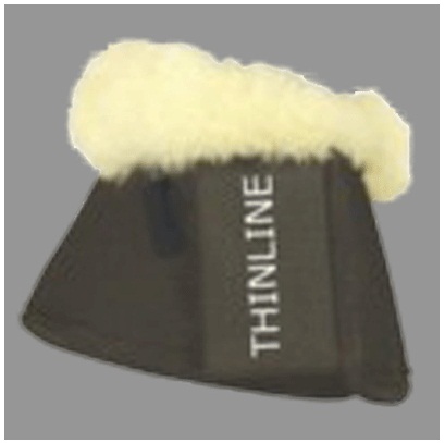 ThinLine® Bell Boots with Fleece Trim
