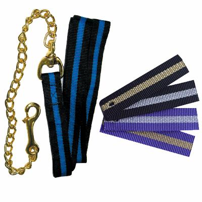 "Two Color Stripe Lead with 20"" Chain"