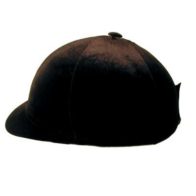 Velvet Stretch Helmet Cover - Hard Peak